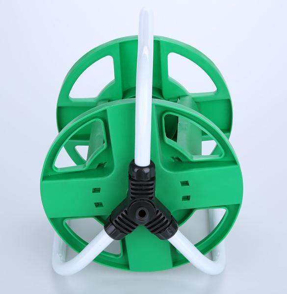 25m Hose Reel Pipe Holder Rust Proof Free Standing Garden