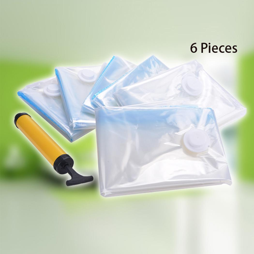 6x vacuum storage bags original space saver seal bag jumbo. Black Bedroom Furniture Sets. Home Design Ideas