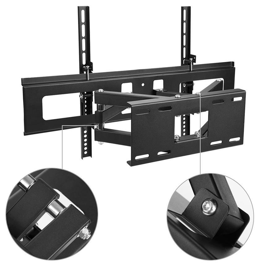 tv wall mount swivel tilt bracket 32 40 42 47 55 65 inch led lcd flat screen gdy ebay. Black Bedroom Furniture Sets. Home Design Ideas