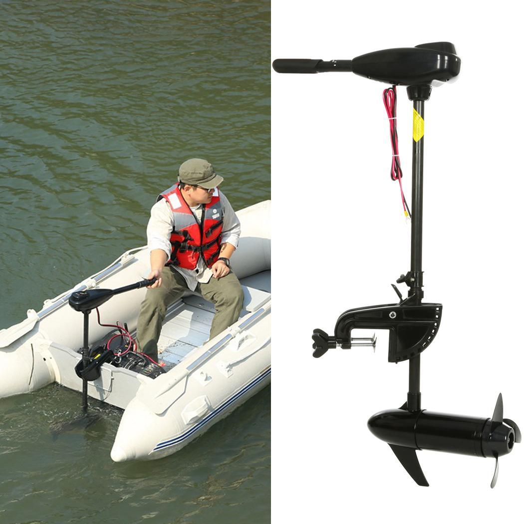 Black 12v 46 Pound Thrust Ship Boat Electric Trolling