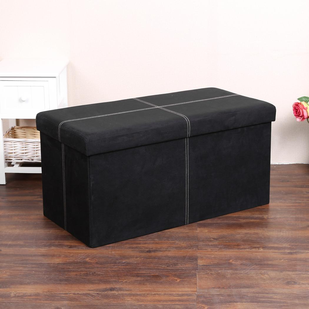 #A92236  LEATHER FOLDING OTTOMAN POUFFE BENCH SEAT FOOT STOOL STORAGE BOX GDY7 with 1050x1050 px of Recommended Ottoman Bench Seats 10501050 save image @ avoidforclosure.info