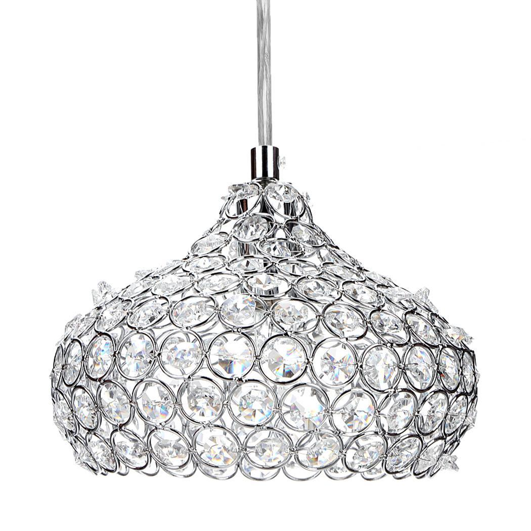 Mini Crystal Ceiling Light Pendant Lamp Fixture Lighting 40w Chandelier Wine Cup